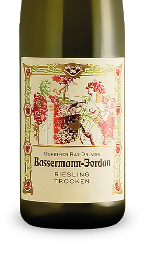 great deals 2017 premium selection no sale tax Bassermann-Jordan Riesling trocken 2017