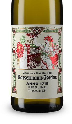 factory authentic special section really cheap Geheimer Rat Dr. von Bassermann-Jordan Anno 1718 Riesling trocken 2016
